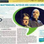 Article du Journal Tournaisien l'Avenir