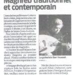 Chronique d'un concert à Lestiac